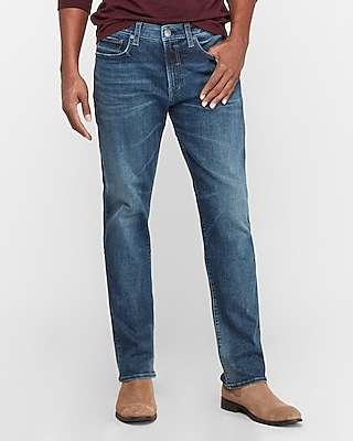 Express Classic Straight Dark Wash Hyper Stretch Tough Jeans