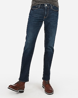 Express Mens Slim Straight Stretch+ Jeans