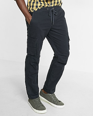 Express Mens Drawstring Cargo Chino Pant