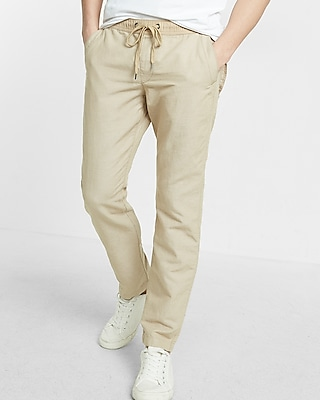 Express Mens Drawstring Chino Pant