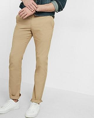 Express Mens Slim Fit Flex Stretch Pant Neutral W34 L34