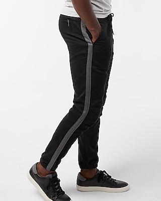 Express Mens Contrast Stripe Jogger Pant