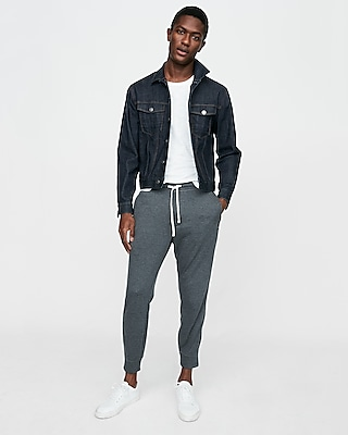 Express Mens Vintage Fleece Jogger Pant