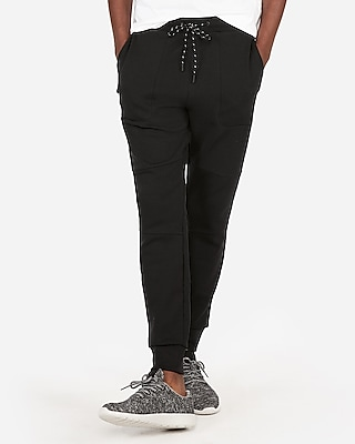 Express Mens Solid Jogger Pant