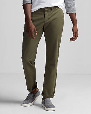 Express Mens Classic Fit Stretch Chino