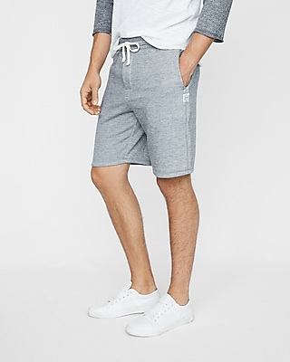Express Mens Vintage Fleece Drawstring Shorts