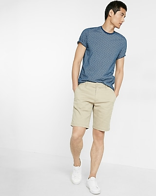 Express Mens Classic Fit Double Face Shorts
