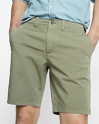 Express Mens Slim Fit 9 Inch 4 Way Stretch Shorts