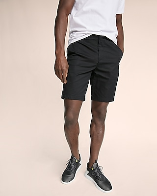 Express Mens Solid Athletic Shorts