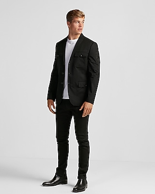 Express Mens Military Blazer