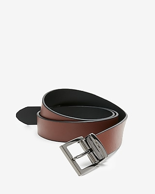 Express Mens Pebble Strap Reversible Belt