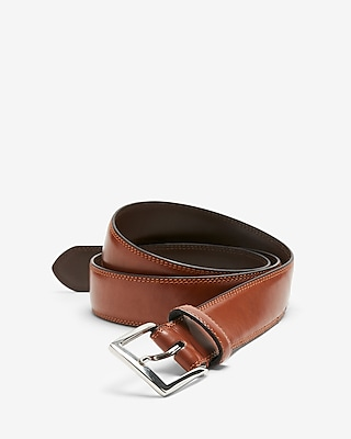Express Mens Stitched Prong Buckle Belt