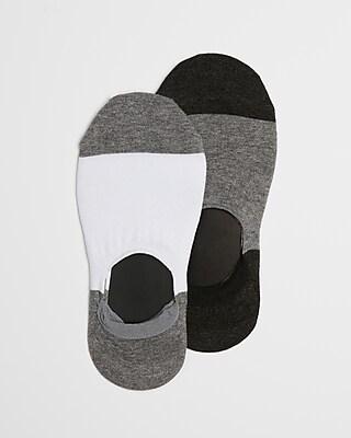 Express Mens 2 Pack Loafer Socks