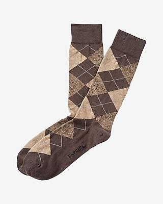 Heather Argyle Dress Socks
