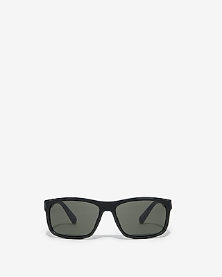 Express Mens Tinted Black Sport Sunglasses