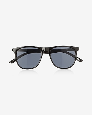 Express Mens Flat Square Sunglasses
