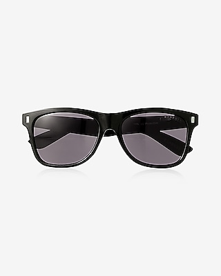 Express Mens Tinted Lens Square Sunglasses