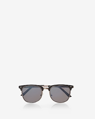 Express Mens Browline Sunglasses