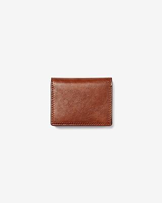 Express Mens Magnetic Money Clip Wallet Brown Men's  Brown
