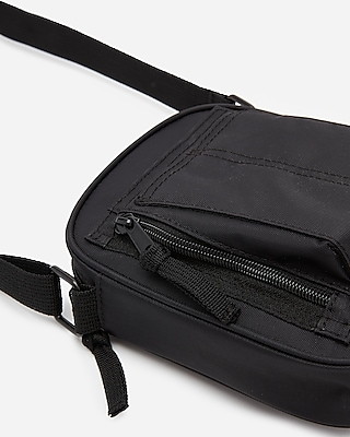 Express Mens Mini Messenger Bag Black Men's  Black