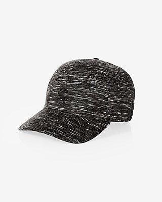 Express Mens Space Dyed Small Lion Baseball Hat Black S/M