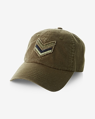 Express Mens Chevron Patch Baseball Hat