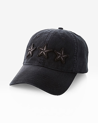 Express Mens Star Patch Baseball Hat