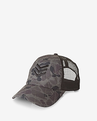 Express Mens Camo Mesh Camo Baseball Hat