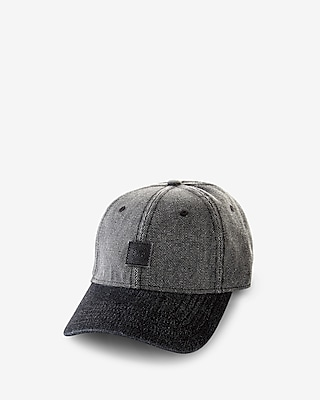 Express Mens Patch Color Block Baseball Hat