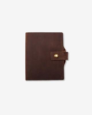 Express Mens Robert Mason Leather Pen Loop Journal