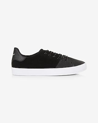 Express Mens Creative Recreation Black Suede Carda Sneaker