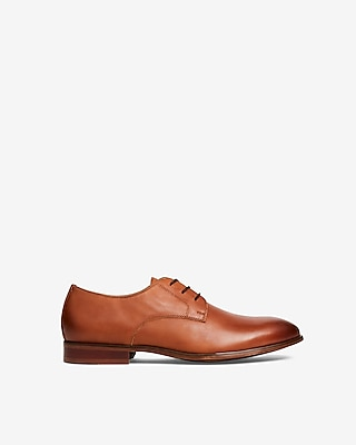 Express Mens Leather Casual Oxford Dress Shoes
