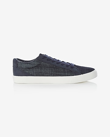 denim low top sneaker