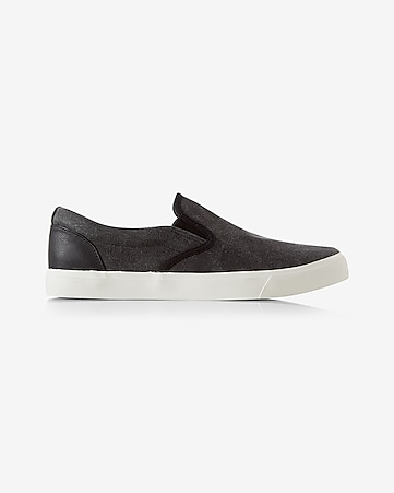 canvas slip-on sneaker
