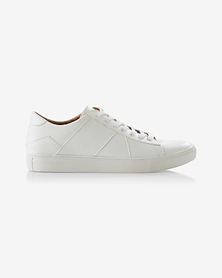 Express Mens Classic Low Top Sneaker White 11