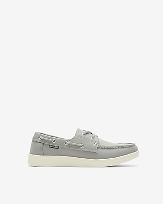Express Mens Eastland Popham Canvas Boat Shoes
