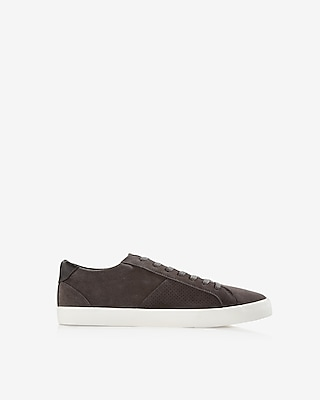 Perforated Suede Sneaker