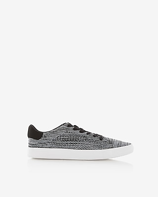 Express Mens Marled Knit Sneakers