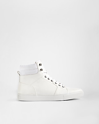 Express Mens High Top Sneakers