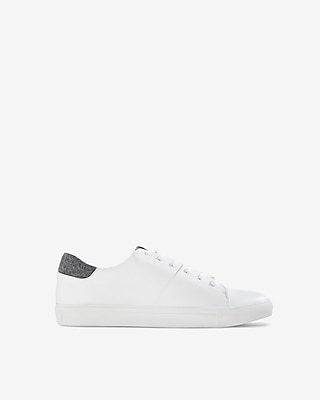 Express Mens Textured Trim Sneakers