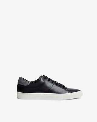 Express Mens Textured Trim Sneakers