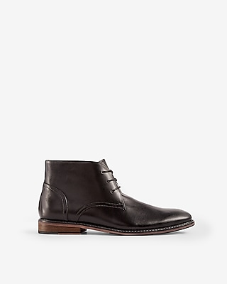 Express Mens Leather Chukka Boots