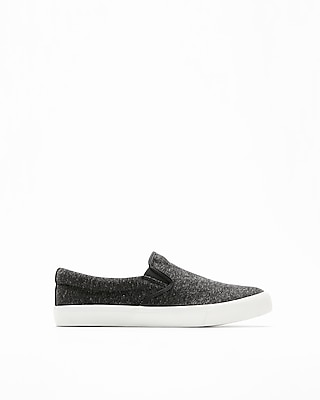 Express Mens Jersey Slip-On Sneakers
