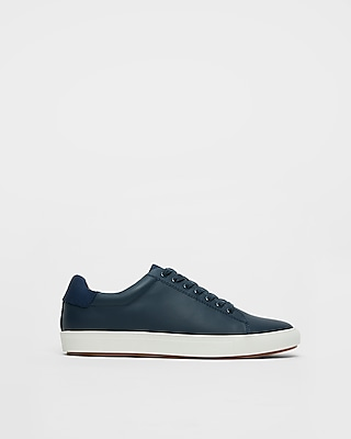 Express Mens Solid Nylon Sneakers