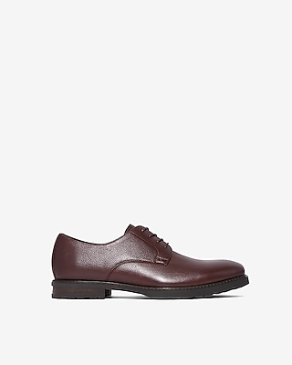 Express Mens Pebble Oxford Dress Shoes
