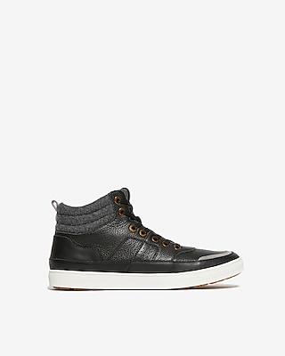 Express Mens High Top Sneakers
