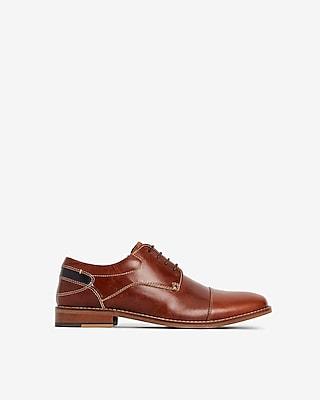 Express Mens Steve Madden Kessler Dress Shoes Brown Men's 7 Brown 7