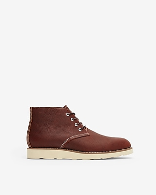 Express Mens Leather Chukka Boot