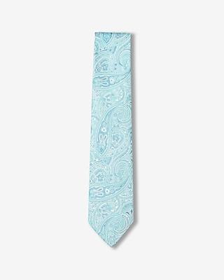 Express Mens Skinny Paisley Tie