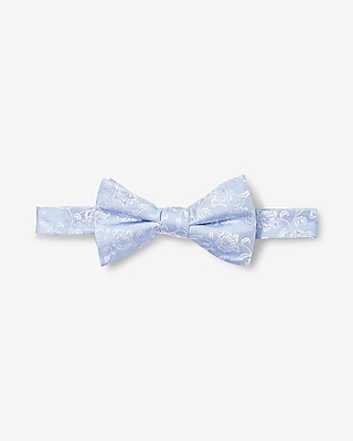 Express Mens Floral Silk Bow Tie